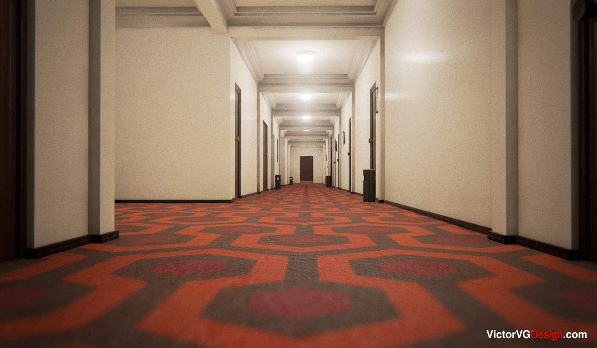 victorvg design overlook hotel