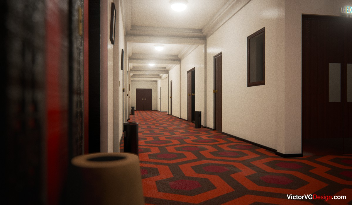 victorvg design overlook hotel